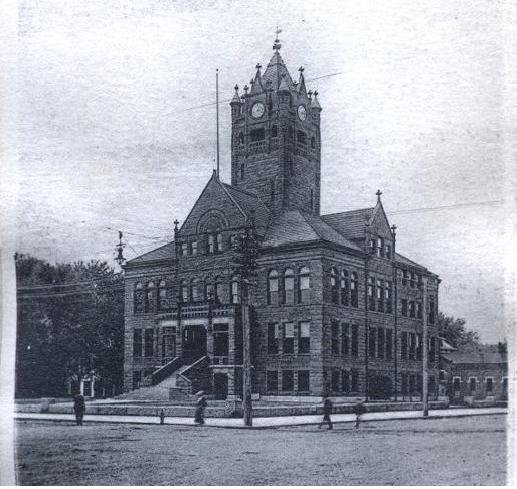Courthouse with Clocktower