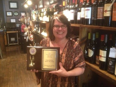 Susan with her Small Business Award