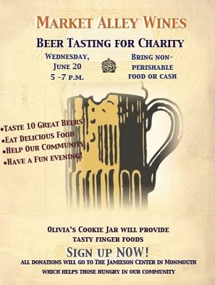 Beer Tasting for Charity