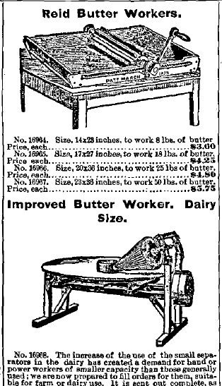 Butter Workers Advertisement