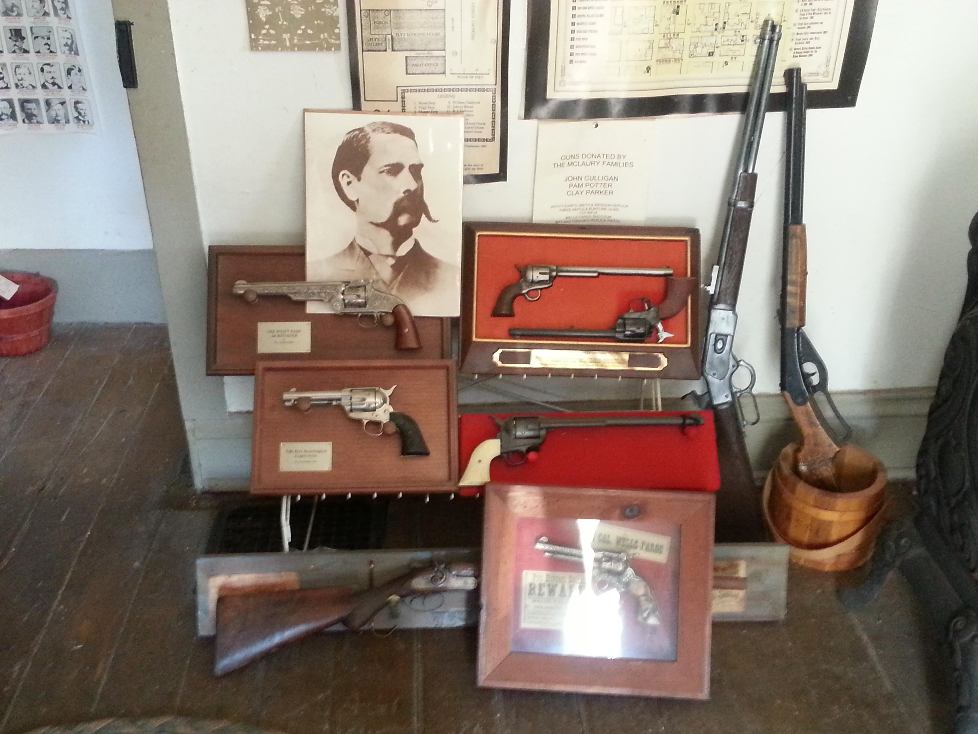 Wyatt Earp's Collection of Guns