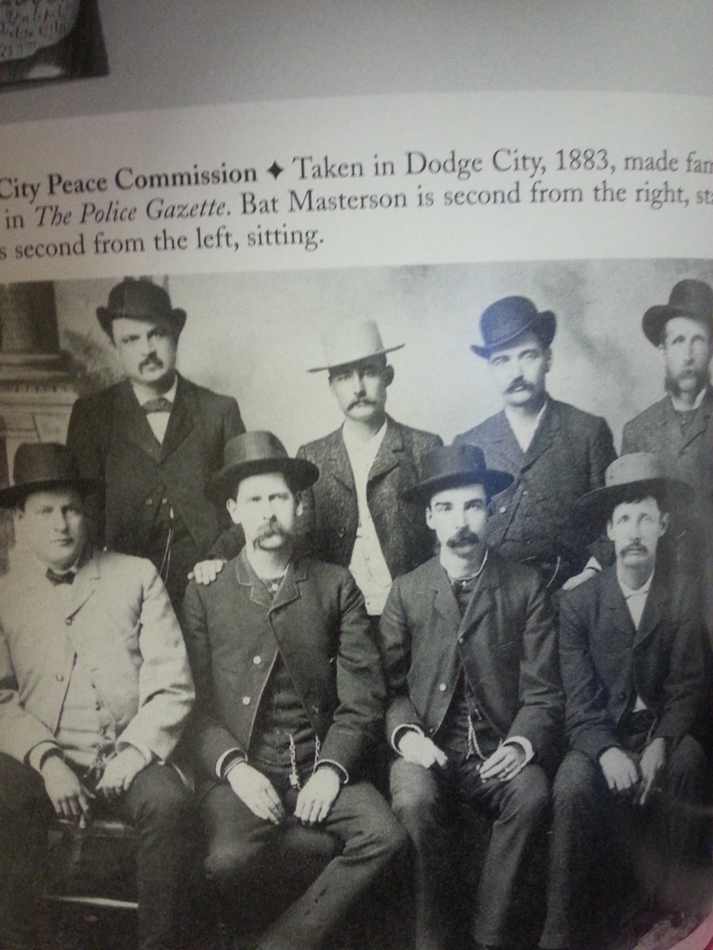 Wyatt Earp and The Dodge City Commission