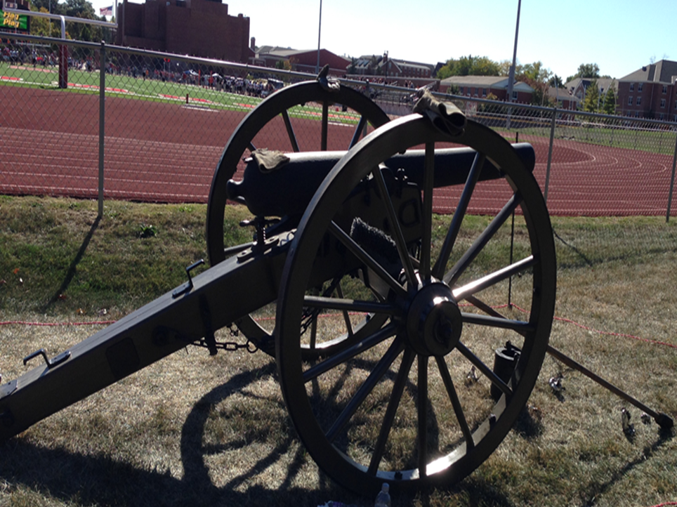 Monmouth College Cannon - Homecoming