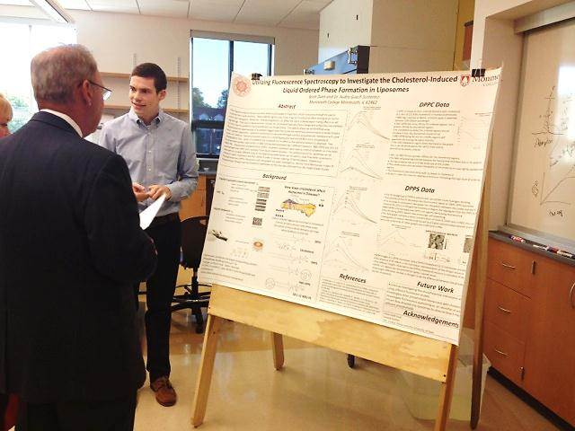 Brett Dunn Presenting Research