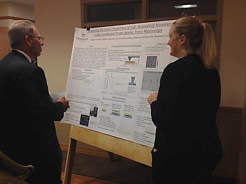Heather Malone Presenting Research