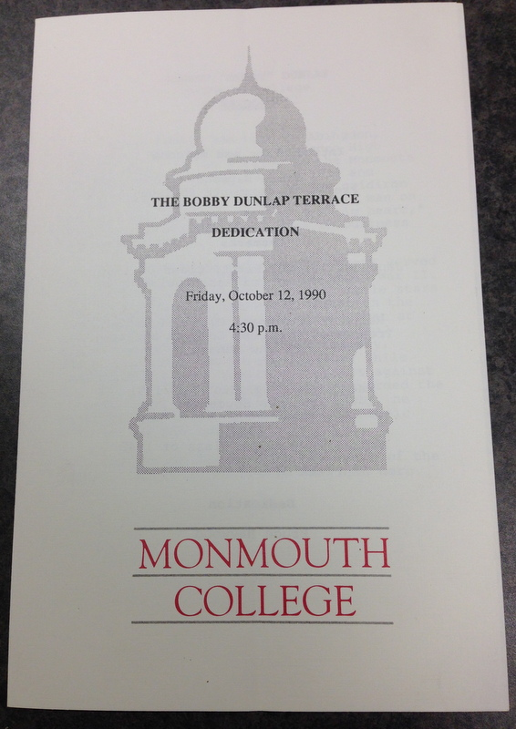 Pamphlet from Dunlap Terrace Dedication