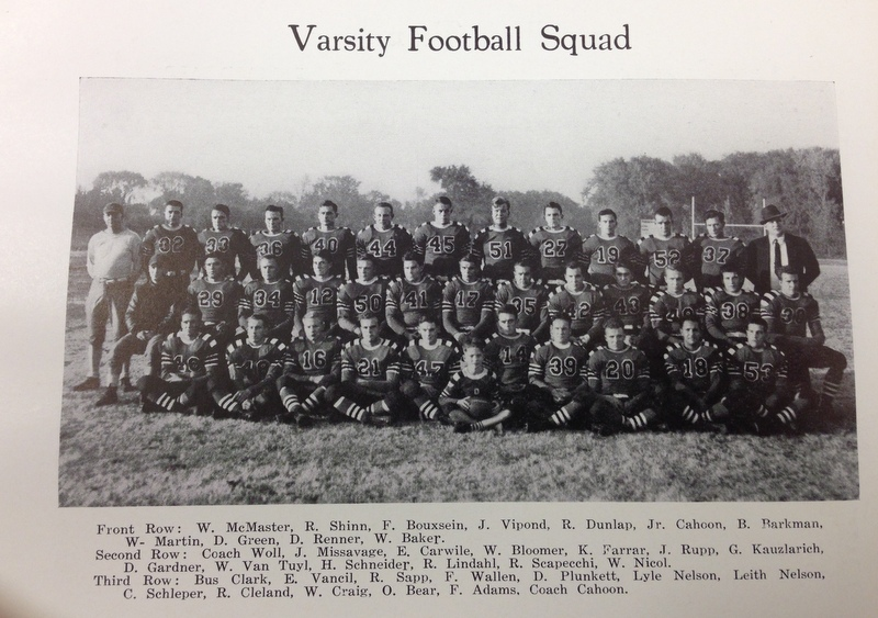 Monmouth College Varsity Football Team