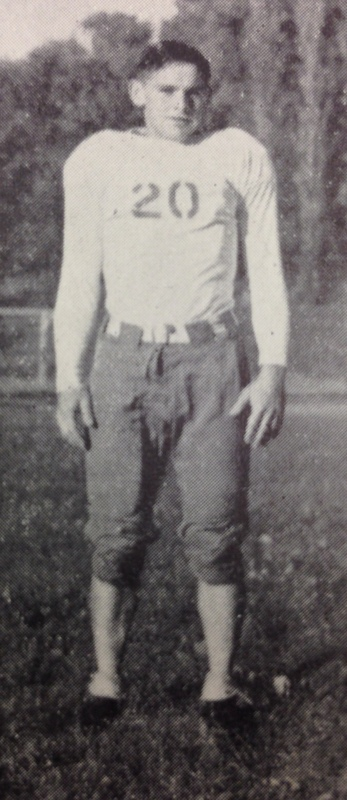 Robert Dunlap as a Monmouth College Football Player