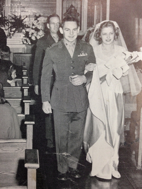 Robert Dunlap at His Wedding