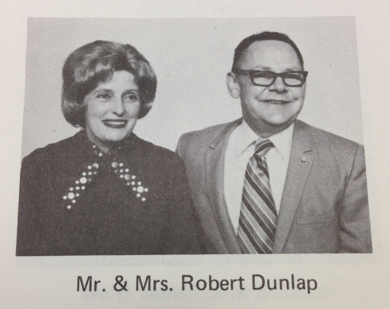 Church Portrait of Dunlap and His Wife