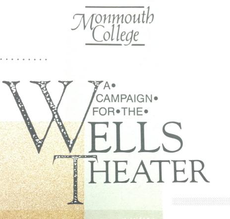 Wells Theatre Pamphlet