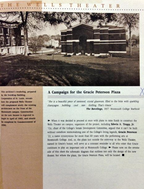 Campaign for Grace Peterson Plaza