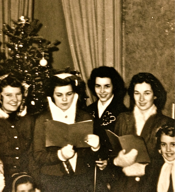 Christmas Carolers in 1941