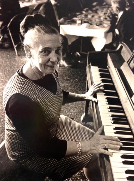Photo: Gracie Peterson at Piano
