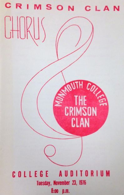 Program from The Crimson Clan Performance