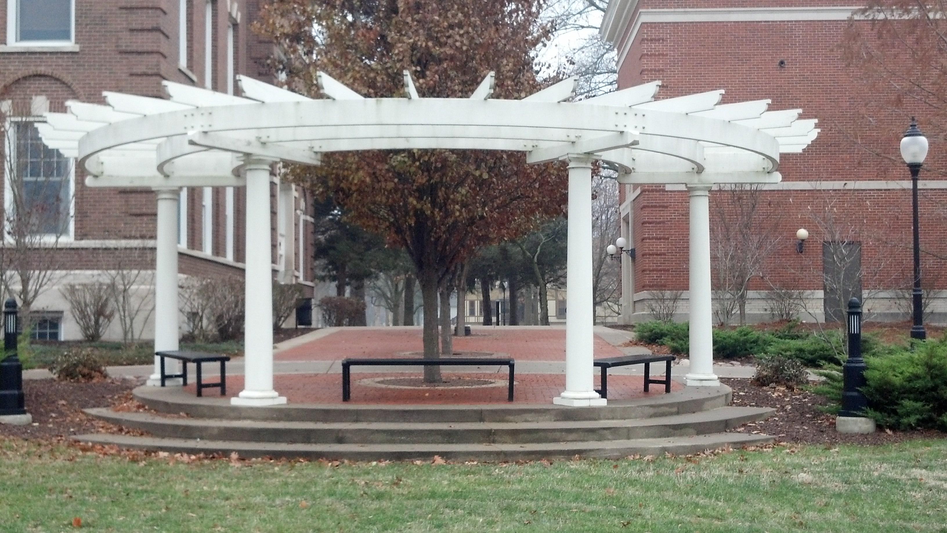 David Fleming Memorial at Monmouth College