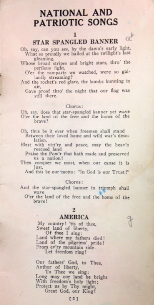 Rotary Club Song Book