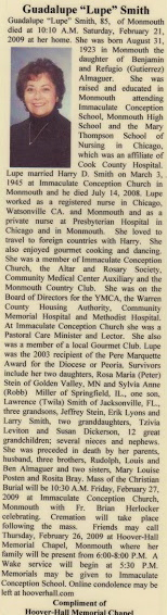 Obituary for Lupe