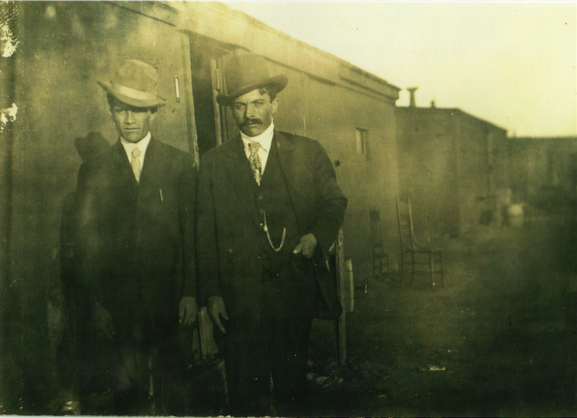 Pedro Parra and Benjamin Almaguer, early 1920s