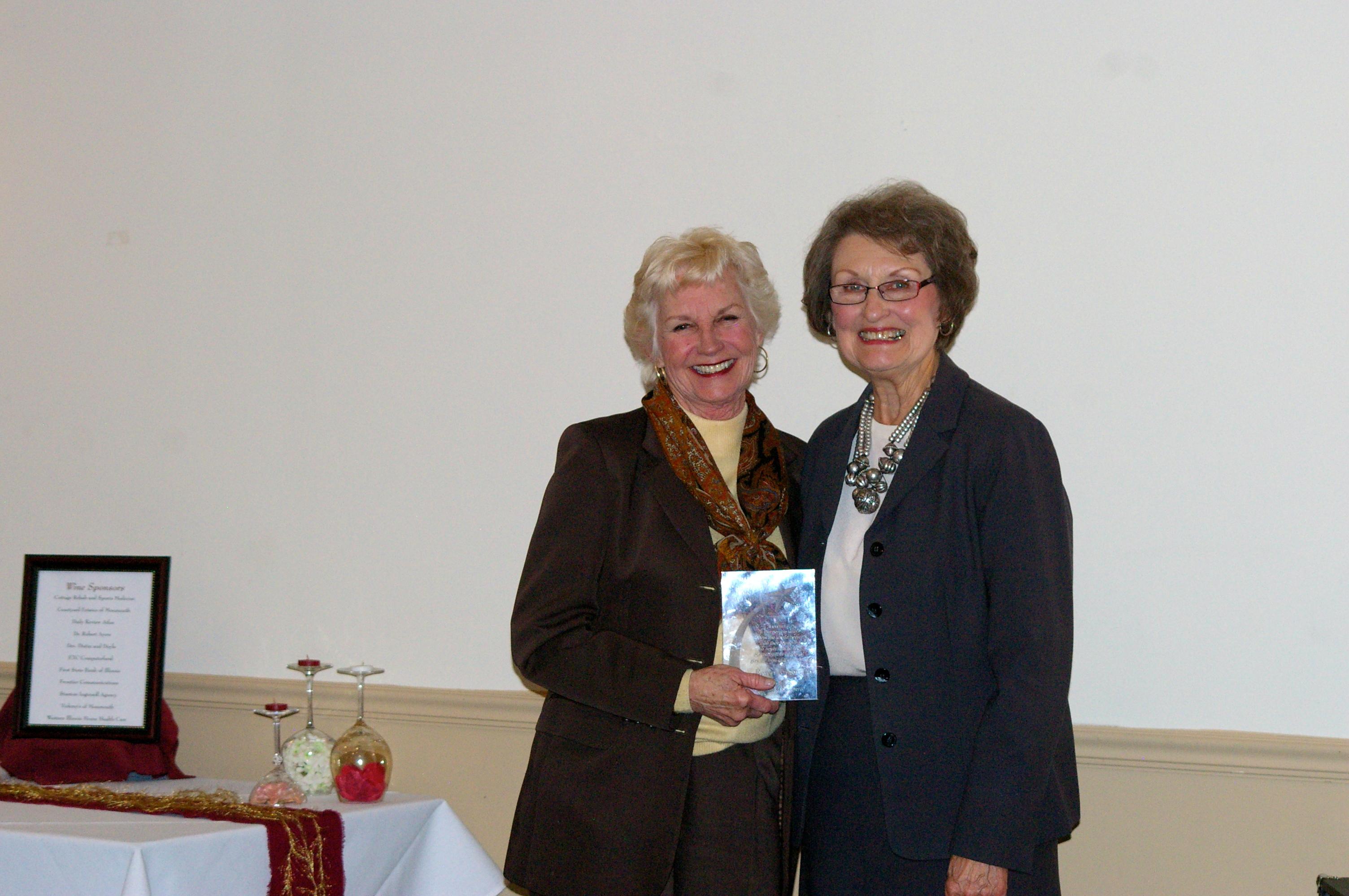 Karen Angotti and Vicki Hennenfent