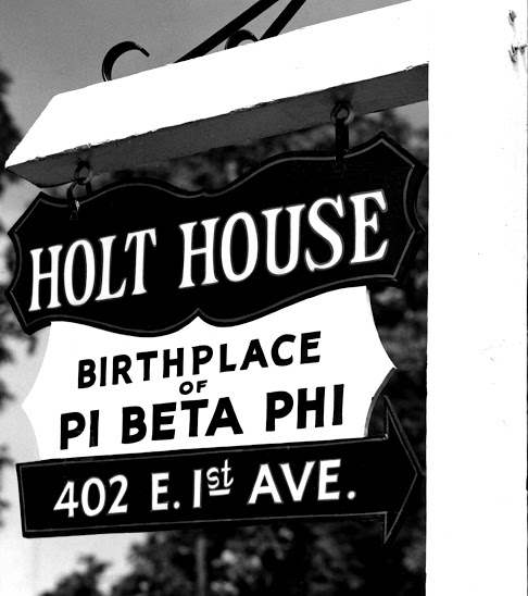 Historic Holt House Sign