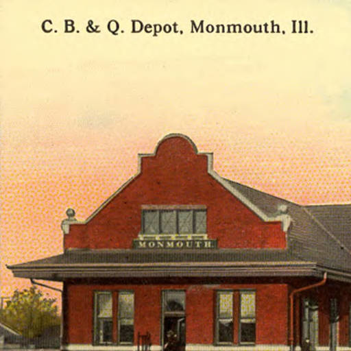 Monmouth Illinois Train Depot