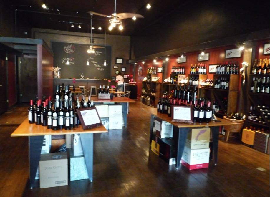 Market Alley Wines at Store Opening