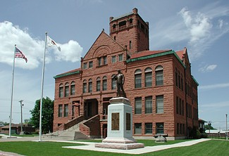 What the courthouse looks like today.