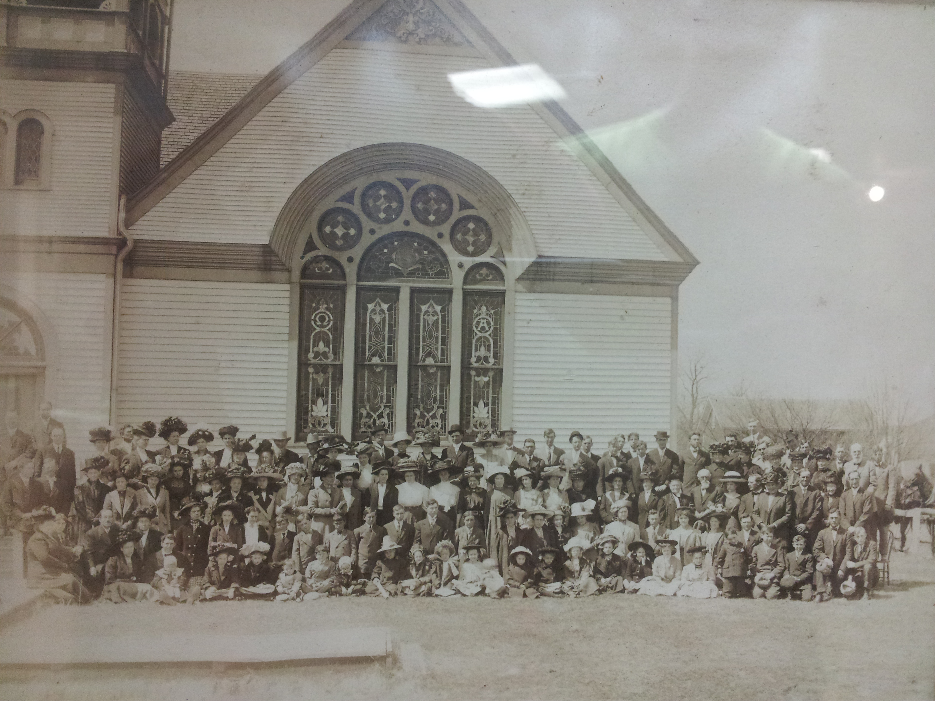Church Congregation of 1911